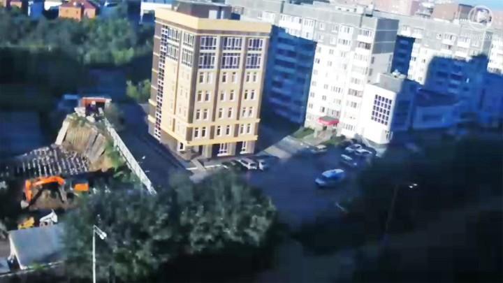 Веб-камера на ул. Чернышевского