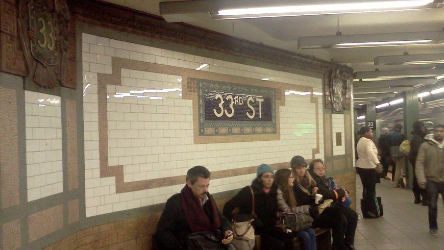 Эстетика нью-йоркского метро - экскурсии