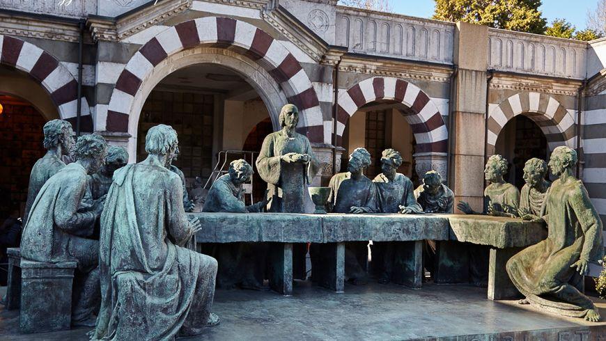 Миланское Mонументальное кладбище - экскурсии