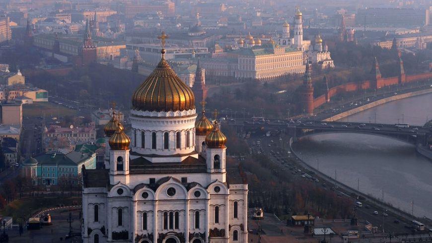 Храм Христа Спасителя и панорамы Москвы - экскурсии