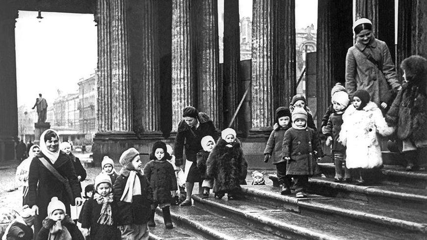 Дети и детство в блокадном Ленинграде - экскурсии