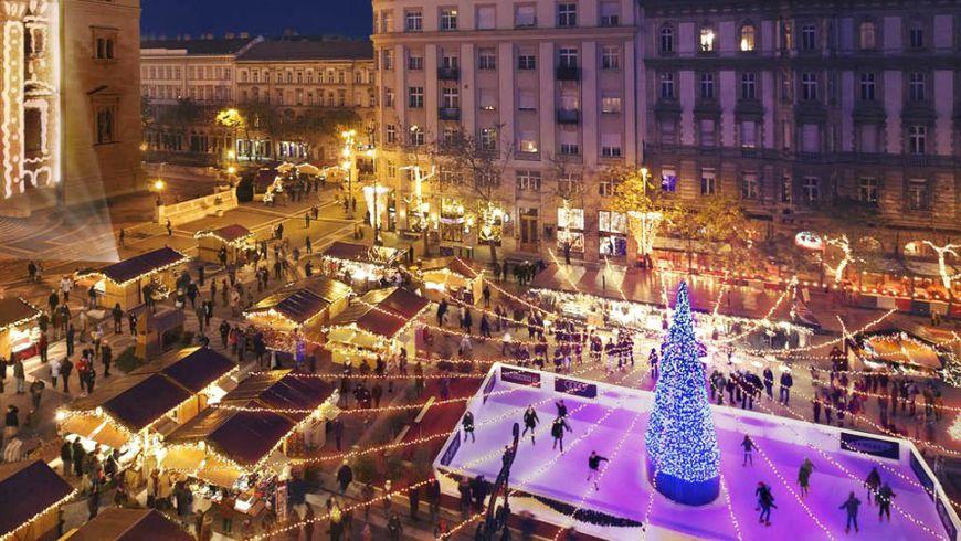 Рождественский Будапешт и легендарные руин-бары - экскурсии