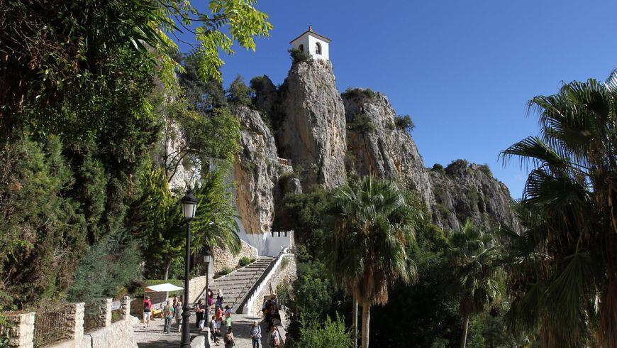 Крепость Гуадалест и водопады Альгара - экскурсии