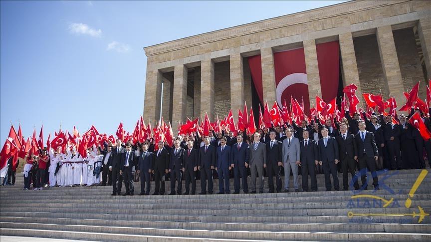 память Мустафе Кемалю Ататюрку