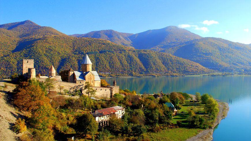 Сердце православной Грузии— Мцхета изамок Ананури