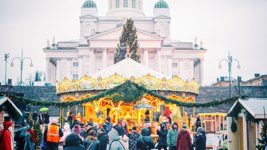 Рождественские декорации Хельсинки - экскурсии