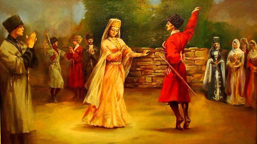 Мастер-класс погрузинским танцам - экскурсии