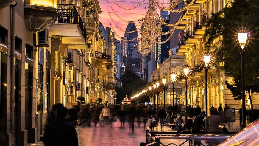 Баку вечерний и огненный Янардаг - экскурсии