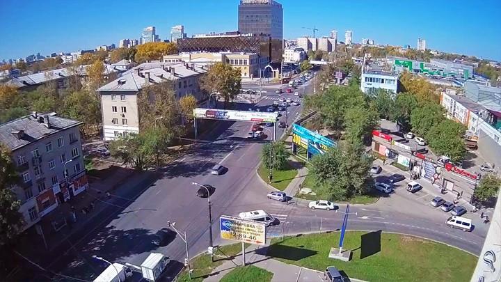 Веб-камера на перекрёстке Энергомаш, Хабаровск