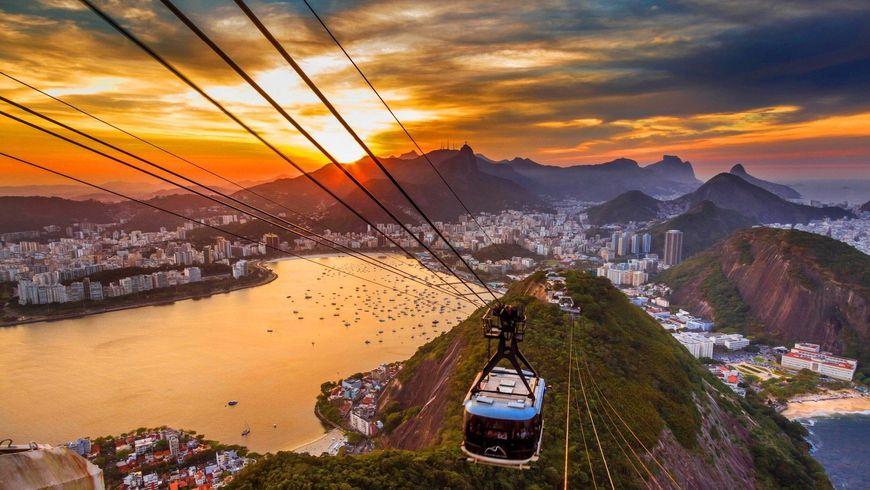На канатной дороге к лучшим видам Рио! - экскурсии