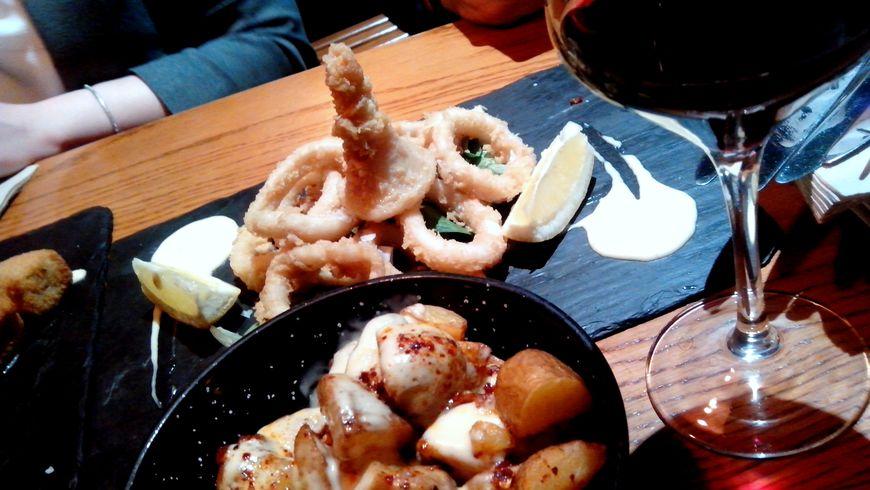 Мадрид со вкусом фасоли и кальмаров - экскурсии