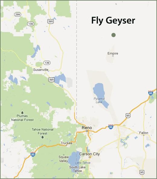 Гейзер Флай в США