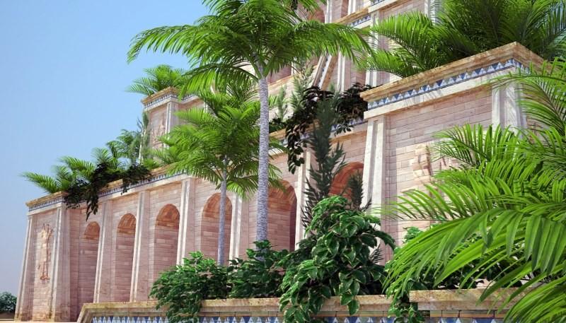 Висячие сады Семирамиды в Азии
