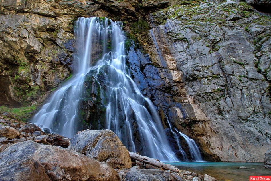 Гегский водопад - описание, расположение