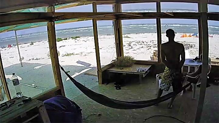Веб-камера на кайт-станции Wind-Extreme в Геническе