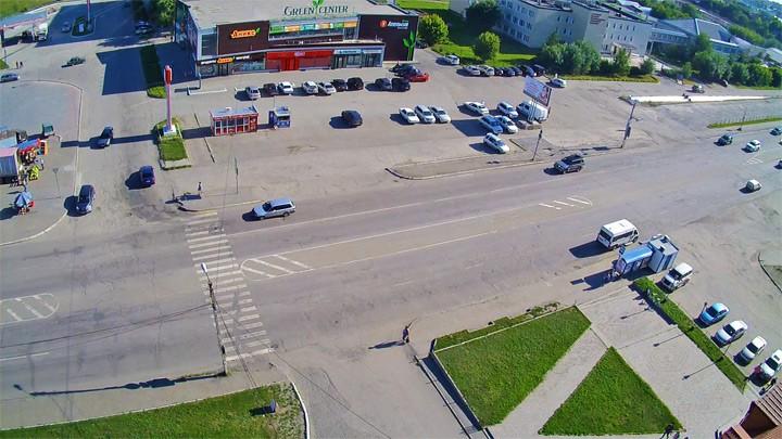 Веб-камера Грин центра на Советской улице в Бийске