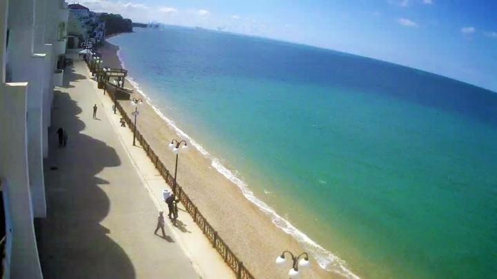 Веб-камера пляжа посёлка Кача