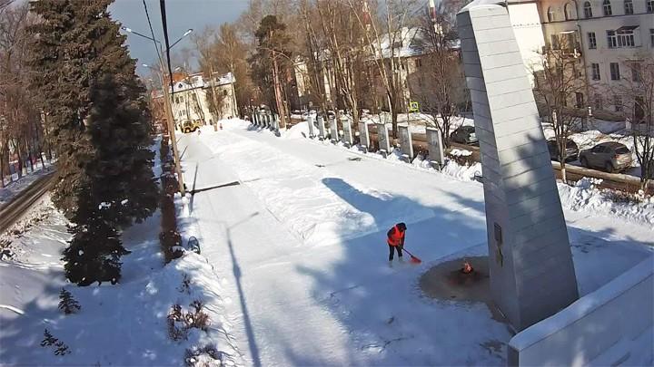 Веб-камера у Обелиска Победы в Кашире