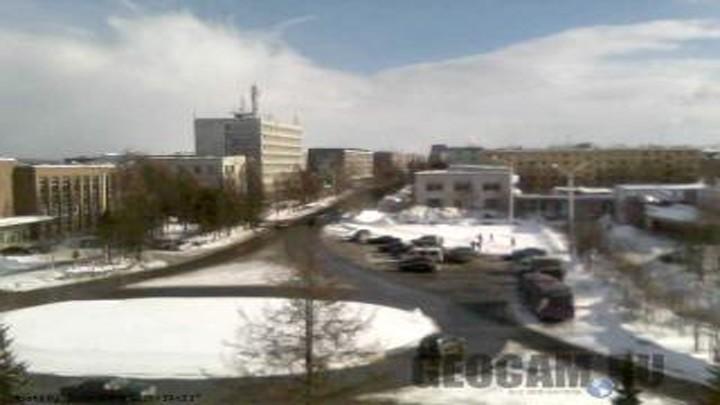Веб-камера на площади Ленина в Апатитах