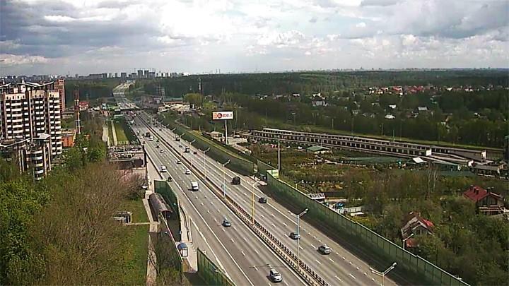 Веб-камера на Минском шоссе