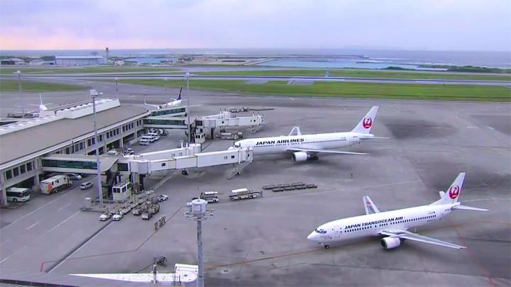 Онлайн веб-камера аэропорта Наха