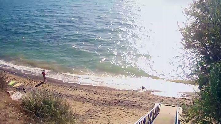 Веб-камера на пляже в Николаевке, Крым
