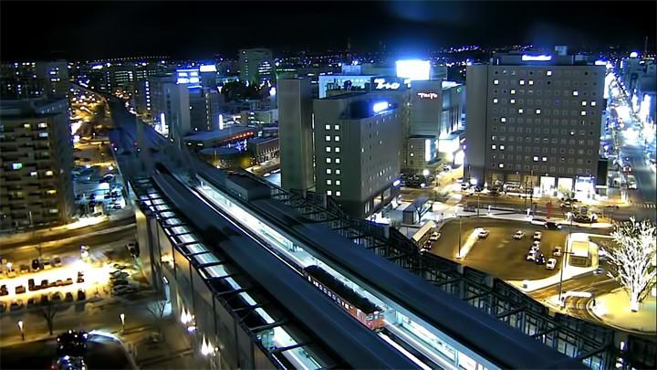 Веб-камера на станции Обихиро, Япония