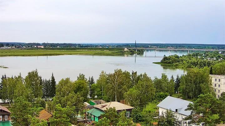 Обводной мост в Бийске онлайн