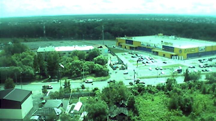 Веб-камера с видом на Московское шоссе в Орле