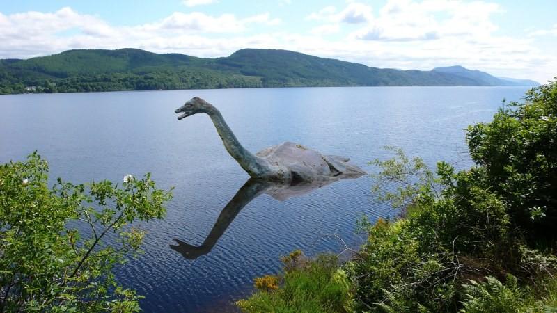 Шотландия озеро Лохнесс