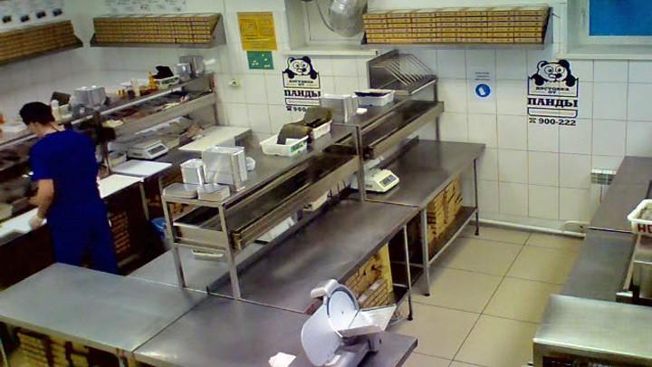 Веб-камера Панда Ресторан