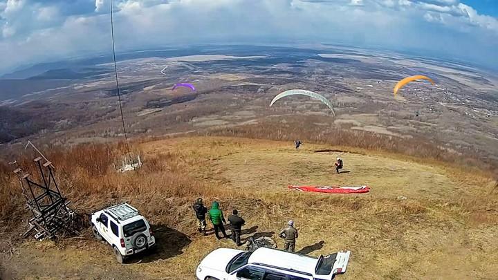 Веб-камера на парадроме Лазарево, ЕАО