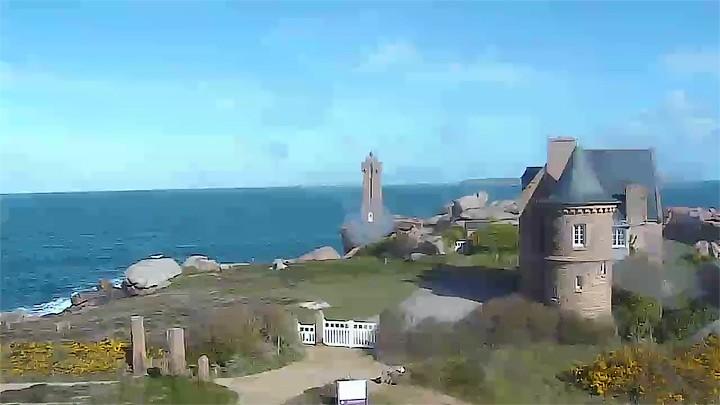 Поворотная веб-камера береговой охраны Перрос-Гирек