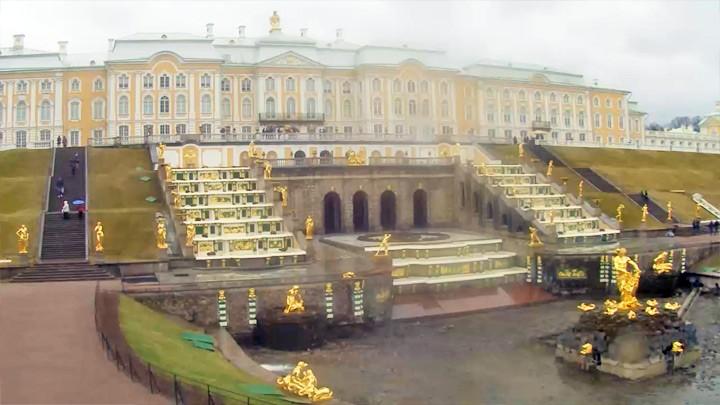 Веб-камера в Петергофе