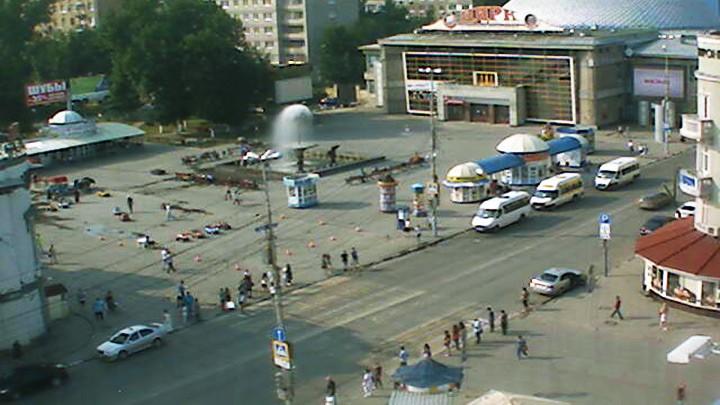 Веб-камера с видом на Площадь у Цирка