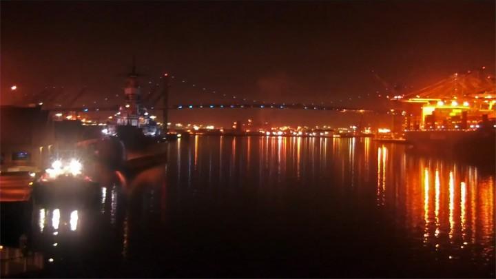 Веб-камера в Морском порту Лос-Анджелеса