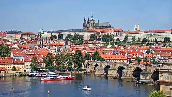Поворотная веб-камера Праги