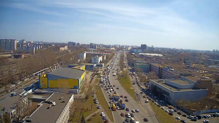 Веб-камера на Рязанском проспекте