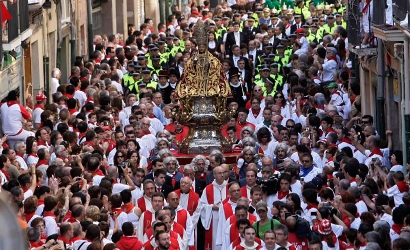 день покровителя города – Святого Фермина