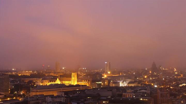 Вид на Брюссель