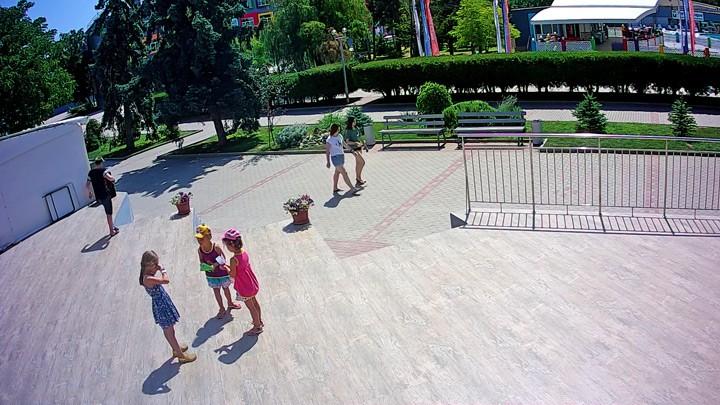 Веб-камера в штабе Smart Camp в Крыму