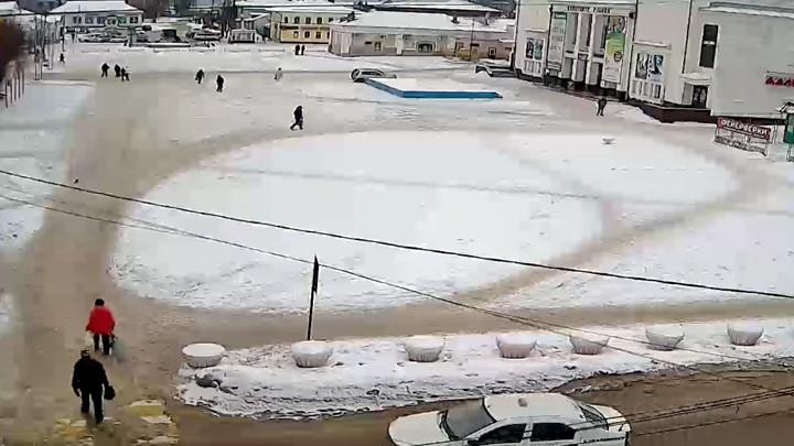 Веб-камера в г. Шуя на Центральной площади