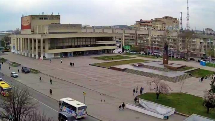 Веб-камера на площади Ленина в Симферополе