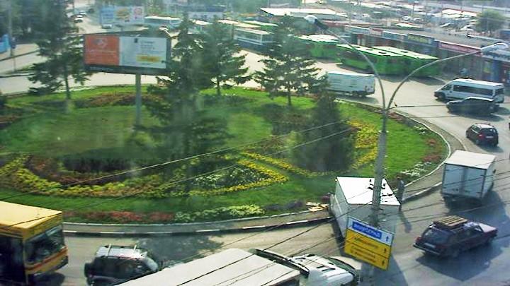 Веб-камера у стадиона Волга
