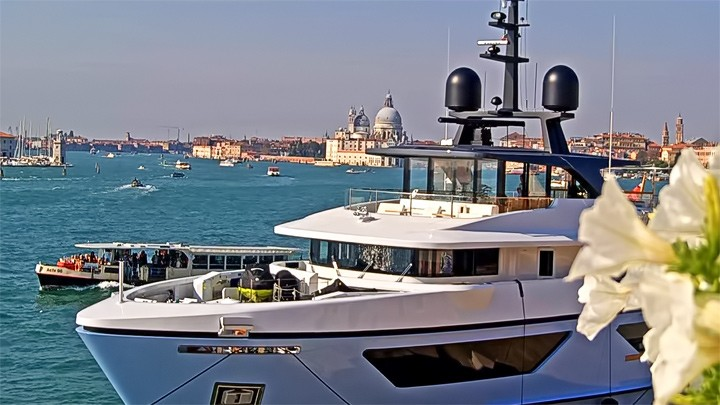 Веб-камера с видом на Венецианскую лагуну