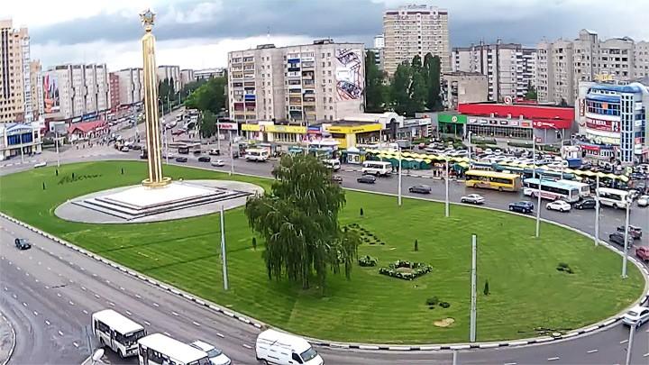 Веб-камера на площади Победы в Липецке