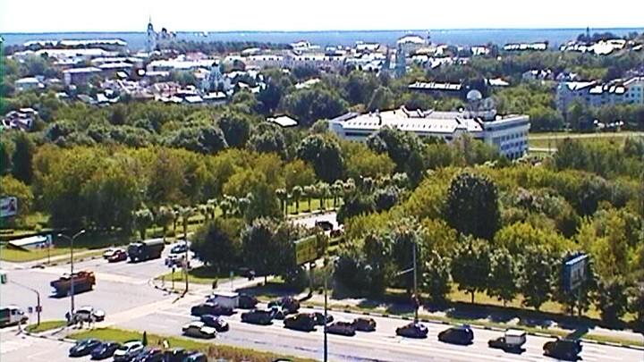 Веб-камера на здании Администрации Владимирской области