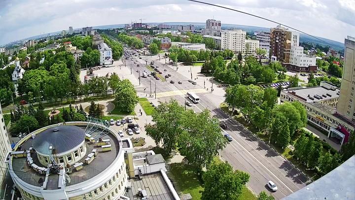 Веб-камера с видом на Площадь Победы, Владимир