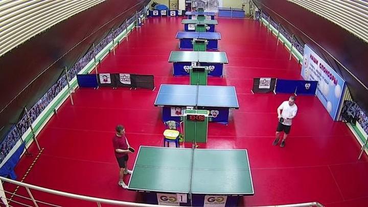 Веб-камера центра настольного тенниса Белый парус