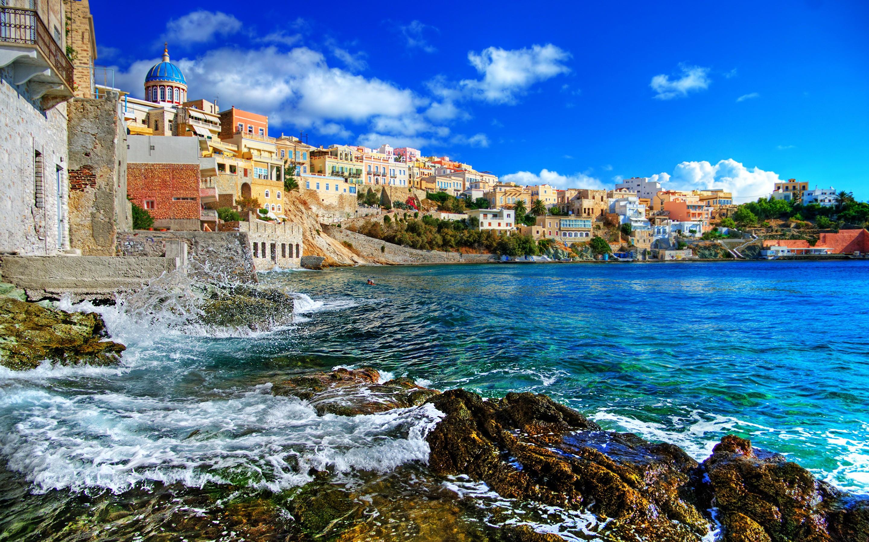 Города курорты в Греции